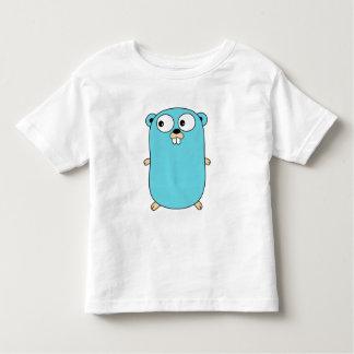Camiseta Infantil o bebé recém-nascido da criança do esquilo veste o