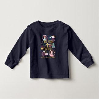 Camiseta Infantil O Belle | seja nossa nossa Convidado-Beleza e o