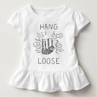 Camiseta Infantil O cair afrouxa a preguiça