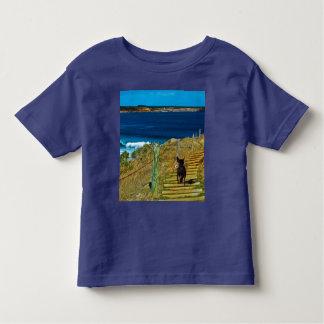 Camiseta Infantil O cão de filhote de cachorro com crista chinês
