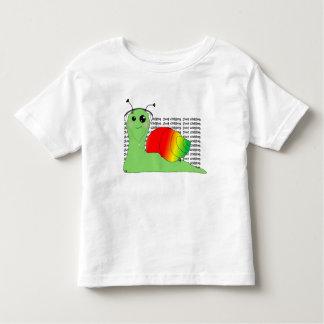Camiseta Infantil O caracol do la de Sullivan ama a música: Reggae