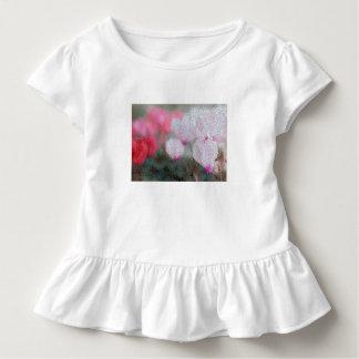 Camiseta Infantil O Cyclamen floresce o mosaico