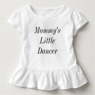 Camiseta Infantil O dançarino pequeno da mamã