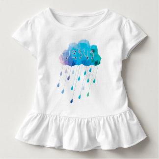 Camiseta Infantil O deus de O, didst envia uma chuva abundante