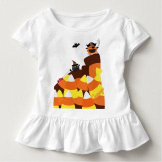 Camiseta Infantil O Dia das Bruxas customizável - coragem do pirata