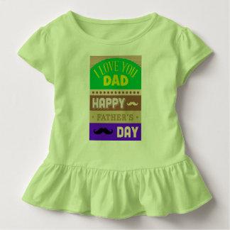 Camiseta Infantil O dia dos pais comemora