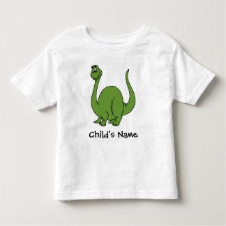 Camiseta Infantil O dinossauro do Apatosaurus do Brontosaurus caçoa