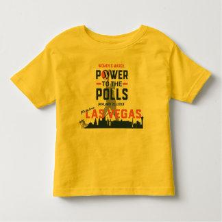 Camiseta Infantil O março Las Vegas das mulheres - T da criança