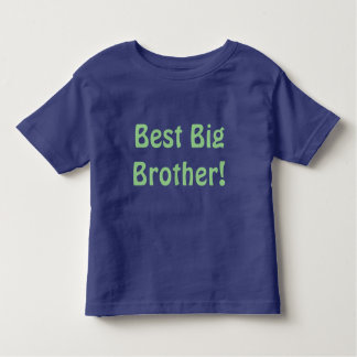 Camiseta Infantil O melhor big brother! T-shirt