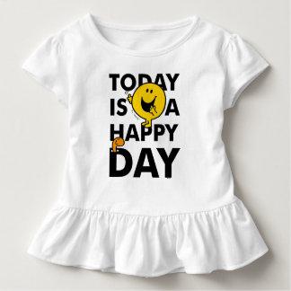 Camiseta Infantil O Sr. Feliz | é hoje um dia feliz