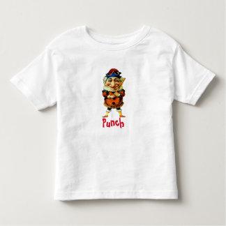 Camiseta Infantil O Sr. Perfurador Fantoche, adiciona o texto