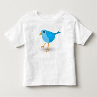 Camiseta Infantil O t-shirt bonito do bebê ou da criança do pássaro