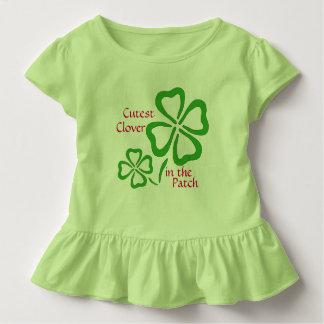 Camiseta Infantil O trevo o mais bonito