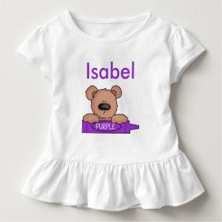 Camiseta Infantil O ursinho personalizado de Isabel