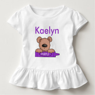 Camiseta Infantil O ursinho personalizado de Kaelyn