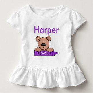 Camiseta Infantil O ursinho personalizado do harpista