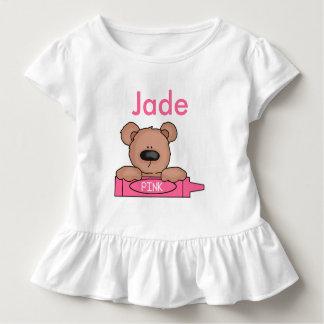 Camiseta Infantil O ursinho personalizado do jade