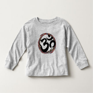 Camiseta Infantil Ohm colorido do zen