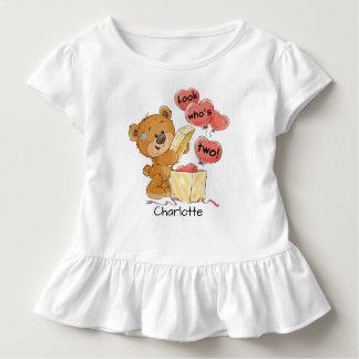 Camiseta Infantil Olhe quem é o urso dois