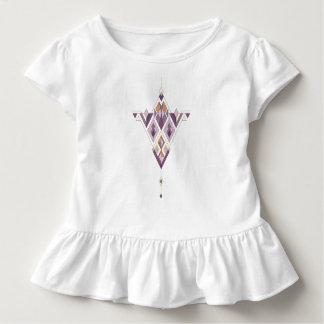 Camiseta Infantil Ornamento asteca tribal étnico do vintage