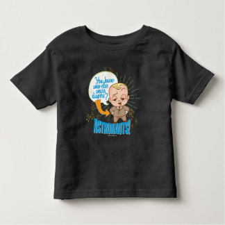 Camiseta Infantil Os astronautas do bebê | do chefe