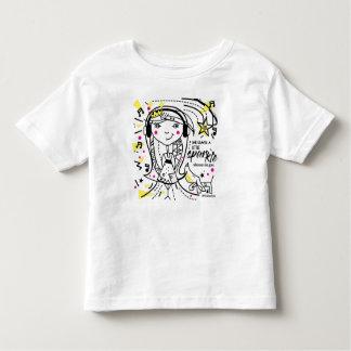 Camiseta Infantil Os cães e as meninas são melhores amigos