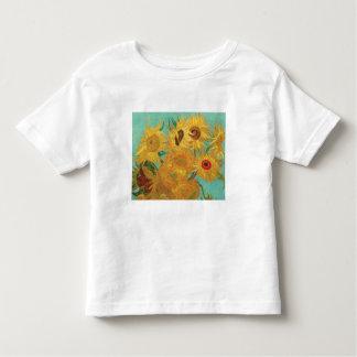 Camiseta Infantil Os girassóis de Van Gogh