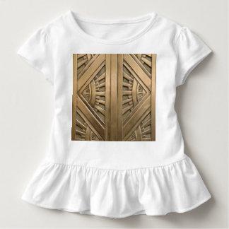 Camiseta Infantil ouro, nouveau da arte, art deco, vintage, chique,
