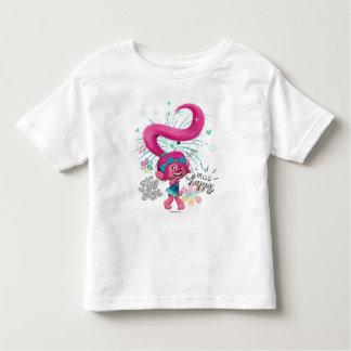 Camiseta Infantil Papoila dos troll | olá! feliz