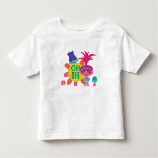 Camiseta Infantil Papoila & ramo dos troll | - oh olá! lá