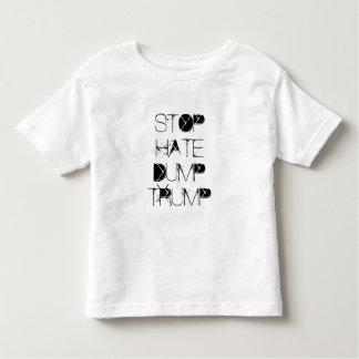 Camiseta Infantil Pare o trunfo da descarga do ódio