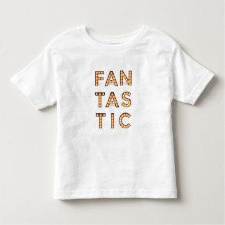 Camiseta Infantil Parte superior FANTÁSTICA da ampola do vintage