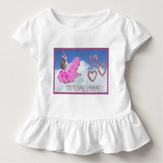 Camiseta Infantil Passarinho da bailarina