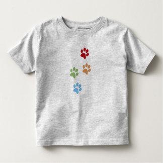 Camiseta Infantil Pegada do cão