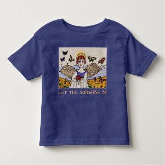 Camiseta Infantil PÉROLA PARA MIÚDOS, anjo de GINNY da luz do sol