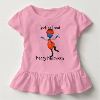 Camiseta Infantil Personalize o T da Jack-o-Lanterna