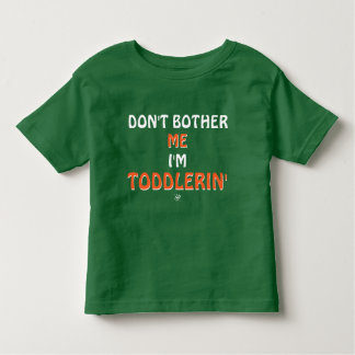 Camiseta Infantil Piada sobre as birras das crianças