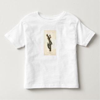 Camiseta Infantil Pica-pau da criança de HAMbWG - t-shirt fino do