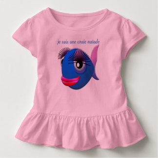 "Camiseta Infantil pingamento rapariga ""naïade """