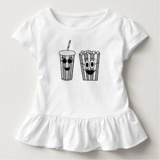 Camiseta Infantil pipoca e soda