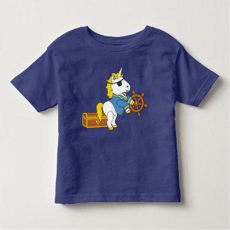 Camiseta Infantil Piratas do unicórnio