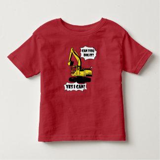 Camiseta Infantil Pode você escavá-lo? Tshirt