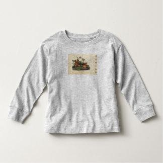 Camiseta Infantil Pomba da tartaruga da criança de HAMbWG - t-shirt