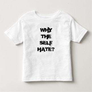 Camiseta Infantil Por que o ódio do auto? Para os miúdos!
