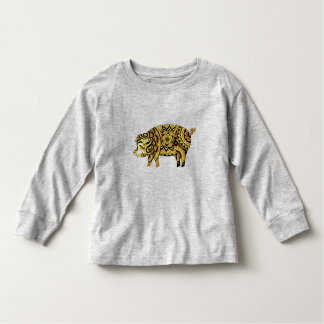 Camiseta Infantil Porco