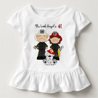 Camiseta Infantil Pouco aniversário de Firegirl - personalize