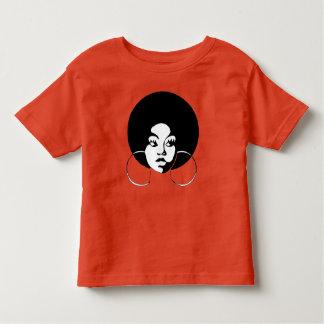 Camiseta Infantil Pouco T da luva do Short do entalhe de Sistah