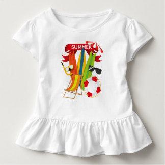 Camiseta Infantil Praia Watersports do verão