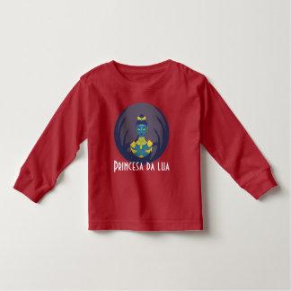 Camiseta Infantil Princesa da lua