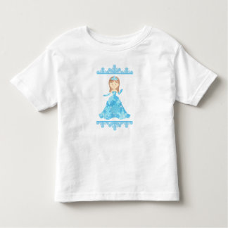 Camiseta Infantil Princesa do gelo